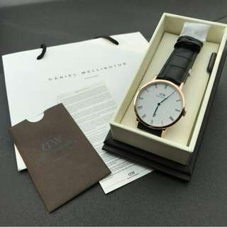 NEW !! 🔥Daniel Wellington Dapper Reading 100% Authentic🔥🔥