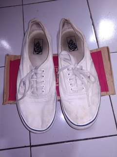Vans Authentic White Original Second