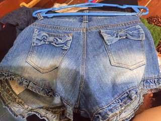 Blue short Jeans (made in Japan)