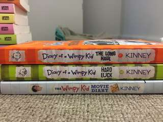 Children's book - Diary of a Wimpy Kid : Movie diary, hard luck and the long haul