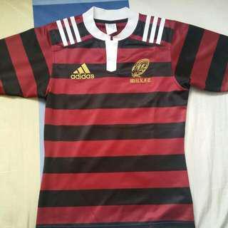 日本 早稻田 大學 欖球隊 球衣 波衫 Adidas rugby jersey