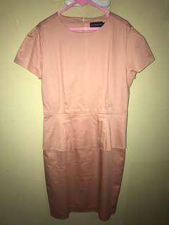 The executive peplum dress baju kantor