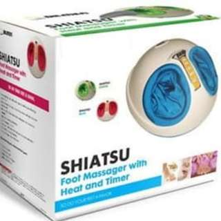 SHIATSU Foot Massager With Haet and Timer paling laris