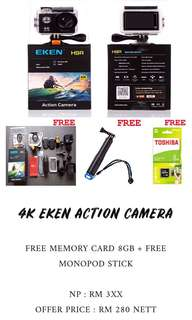 4K EKEN WIFI ACTION CAMERA