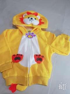 Jaket bayi karakter lucu