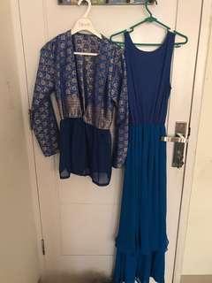 Dress muslim 1 set