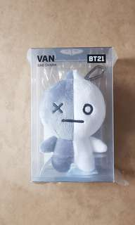 BT21 Van bag charm Line Friends