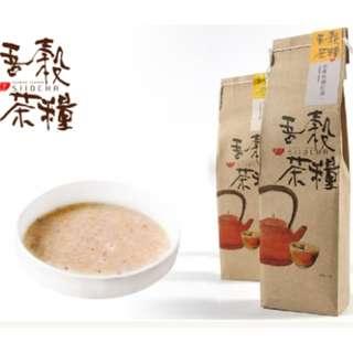 吾穀茶糧-老薑桂圓紅棗擂茶300g/包(2包)