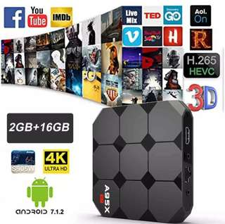 2GB Ram 16GB Rom Android 7.1 Android Smart TV Box