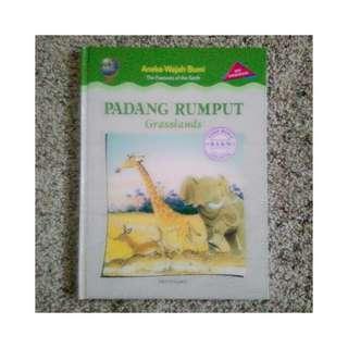 Buku Aneka Wajah Bumi - Padang Rumput