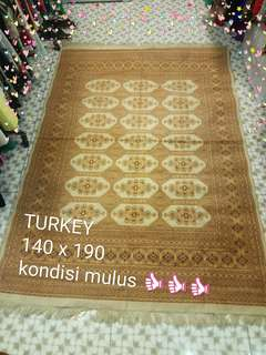 Karpet Turkey minimalis