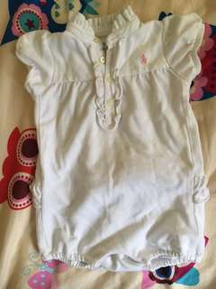 🚚 Ralph Lauren bubble onesie