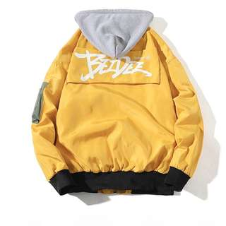 Street Windbreaker Jacket  Mens Hip-Hop Hooded Jacket