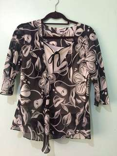 Printed Smart Casual Blouse