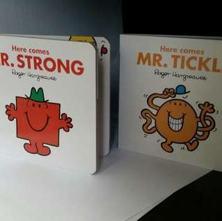 Mr Strong and Mr Tickle