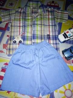 Toddler Polo&Short Set