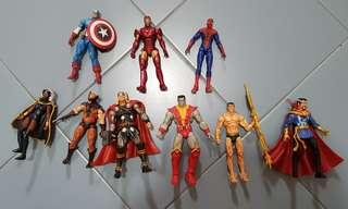 Marvel Universe X-Men Avengers Spiderman Assorted Figures! [LOOSE] CHEAP!