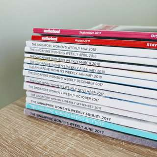 Singapore Women's Weekly Magazine