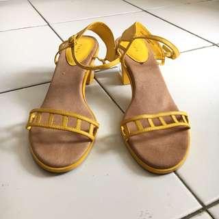 Pedro Yellow Heels