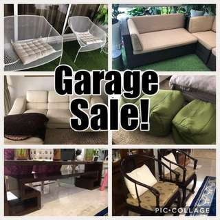 GARAGE SALE! Moving out
