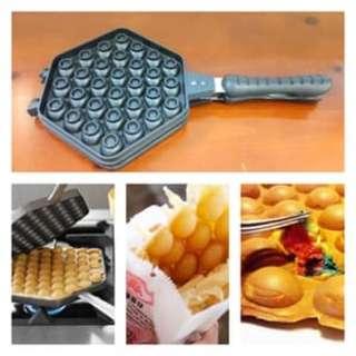 cetakan egg waffle maker tidak lengket dan berkualitas bagus