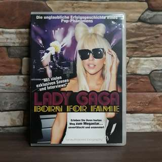 Lady Gaga Born For Fame DVD