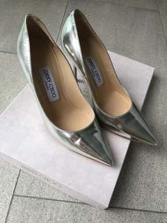 Authentic Jimmy choo Abel pointy heels 85mm ( discontinued model)