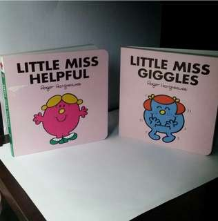 Little Miss Helpful and Little Miss Giggles