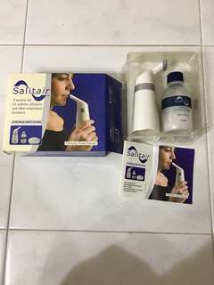 Salitair easy breathe salt therapy inhaler (asthma & allergies)