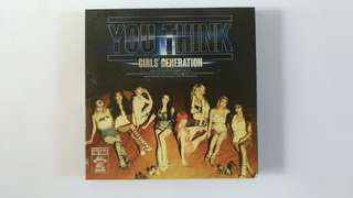 🚚 [二手 空專] You Think (少女時代 Girls' Generation)