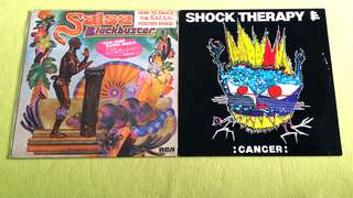BLACKBUSTER . salsa ● SHOCK THERAPY . cancer ( buy 1 get 1 free )  Vinyl record