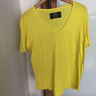 Zara Yellow Tee