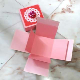 🚚 Pink Explosion Box for DIY