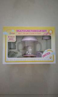 Multi function cup set