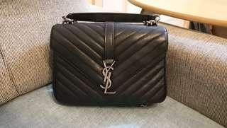 YSL College bag(medium size) ,95%new
