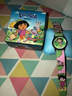 Dora The Explorer watch with box