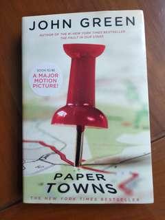 PAPER TOWNS — John Green NON TERJEMAHAN