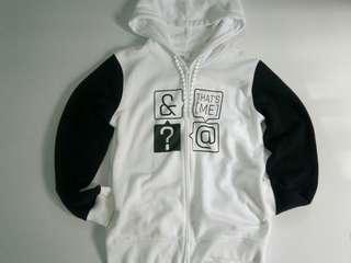 BSX Black & White Hoodie