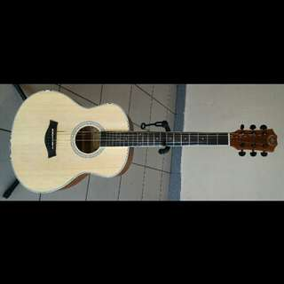 A&K Acoustic Guitar 36Inch Travel/Children Model 120C Spruce
