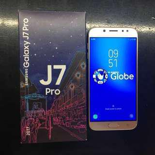 Brand New Samsung J7 Pro (in gold color). 32GB. Selling at 14,499. GLOBE LOCKED. DUAL SIM. Complete with box.