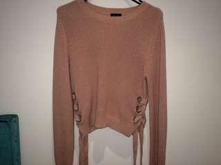 Bardot Pink knit jumper