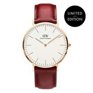 NEW !! 🔥Daniel Wellington Suffolk Limited Edition 100% Authentic🔥 Limited time offer!!!