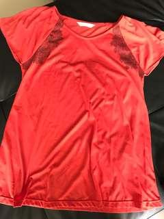 Maternity blouse size M