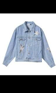 BF Denim Long Sleeved Loose Jacket