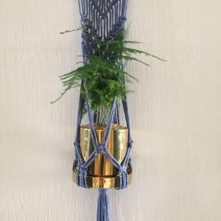 Macrame Wall Art Planter / Rope Art / Knot art