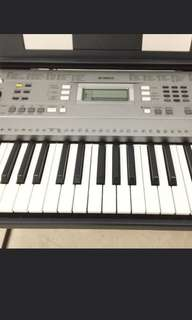 Yamaha Portable Keyboard with Stand