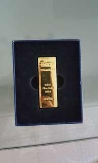 🚚 Gold bar 8gb pendrive