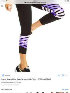 Lorna jane tights & cap free postage