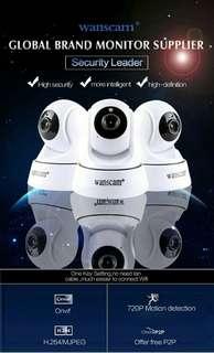 Home cctv ipcam pantilt camera. Baby/parents monitor