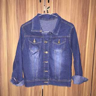 Jacket jeans dark blue (jaket denim)